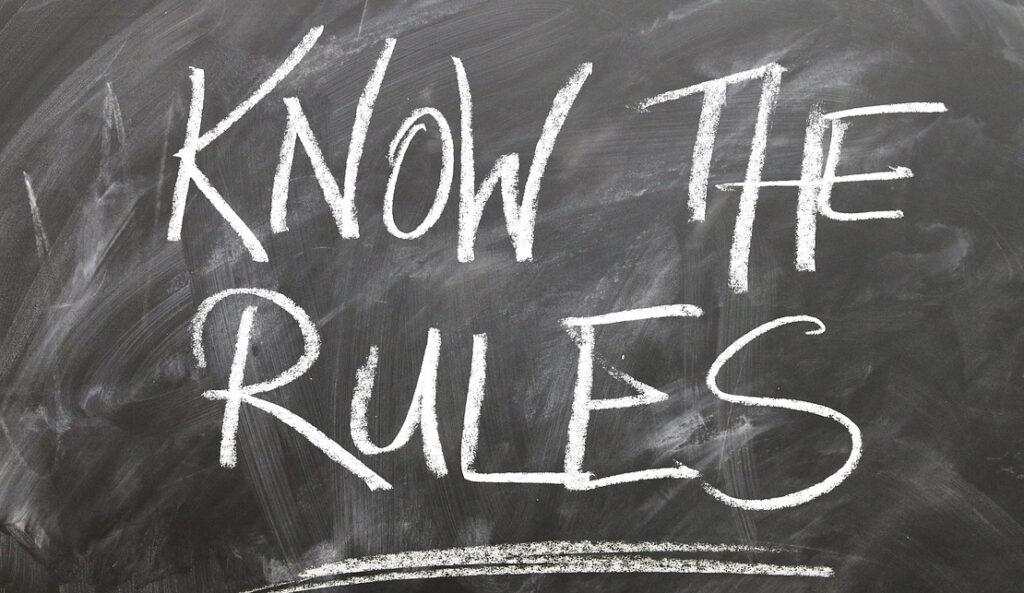 rules, board, circle